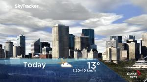 Edmonton early morning weather forecast: Thursday, May 16, 2019